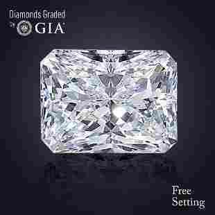 302 ct Color GVS1 Radiant cut Diamond