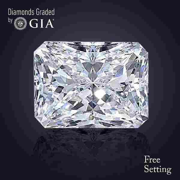 3.02 ct, Color G/VS1, Radiant cut Diamond