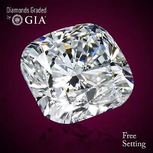 401 ct Color GVVS2 Cushion cut Diamond