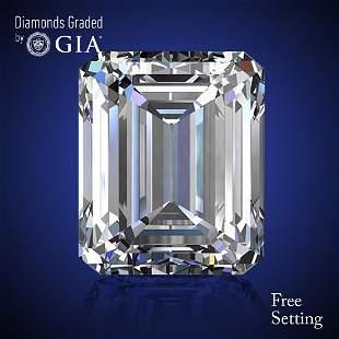 342 ct Color DVS2 Emerald cut Diamond