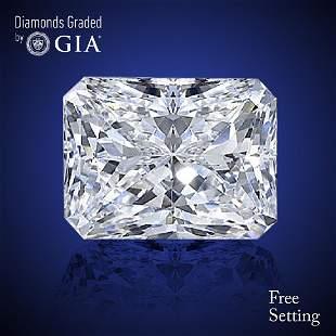 301 ct Color EVS1 Radiant cut Diamond