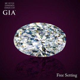 4.00 ct, Color G/VVS1, Oval cut Diamond
