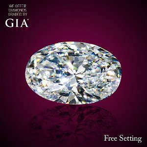 5.01 ct, Color H/IF, Oval cut Diamond