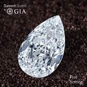 5.02 ct, Color H/VVS2, Pear cut Diamond
