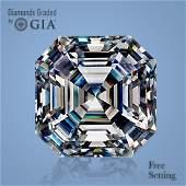 4.01 ct, Color I/VVS1, Sq. Emerald cut Diamond