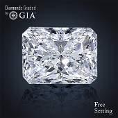 4.51 ct, Color E/VS1 , Radiant cut Diamond