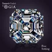 2.51 ct, Color D/VVS1 , Sq. Emerald cut Diamond