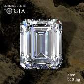 3.02 ct, Color E/VS1, Emerald cut Diamond