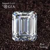 10.51 ct, Color E/VS1, Emerald cut Diamond