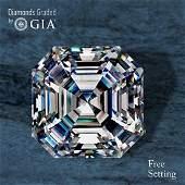 5.28 ct, Color D/FL, Sq. Emerald cut Diamond