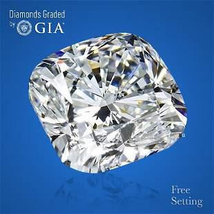 233 ct Color DVS2 Cushion Bri cut Diamond
