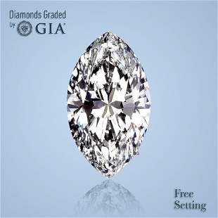 100 ct Color DVVS2 Marquise cut Diamond