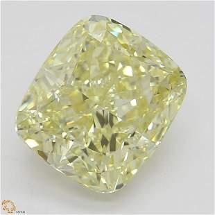 208 ct YellowIF Cushion cut Diamond