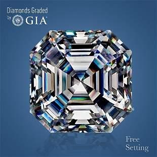 301 ct Color FVS1 Sq Emerald cut Diamond