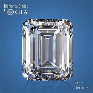 2.01 ct, Color E/VS1, Emerald cut Diamond