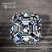 3.60 ct, Color F/VVS2, Sq. Emerald cut Diamond