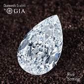 1.00 ct, Color D/VVS1, Pear cut Diamond