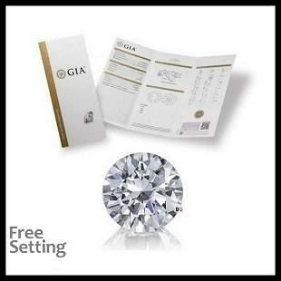 201 ct Color HVVS1 Round cut Diamond
