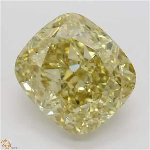 821 ct Brn YellowVS1 Cushion cut Diamond