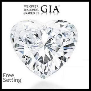 1003 ct Color GVS1 Heart cut Diamond