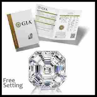 201 ct Color EVS1 Sq Emerald cut Diamond