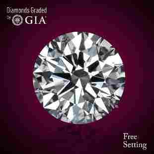 2.01 ct, Color F/VS1, Round cut Diamond