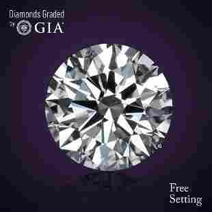 218 ct Color FIF Round cut Diamond