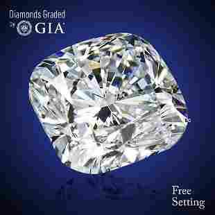 201 ct Color GIF Cushion cut Diamond