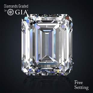 502 ct Color DVS1 Emerald cut Diamond