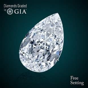 201 ct Color EIF Pear cut Diamond