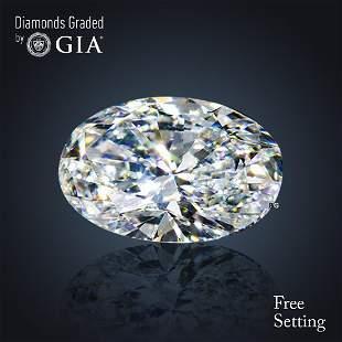 201 ct Color FVVS2 Oval cut Diamond
