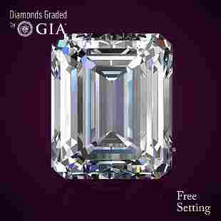 150 ct Color DVVS2 Emerald cut Diamond