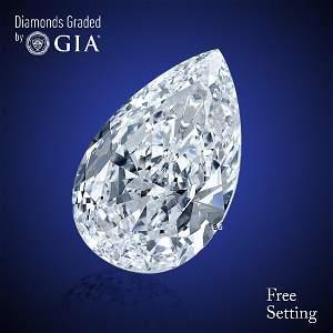 3.52 ct, Color E/VS1, Pear cut Diamond