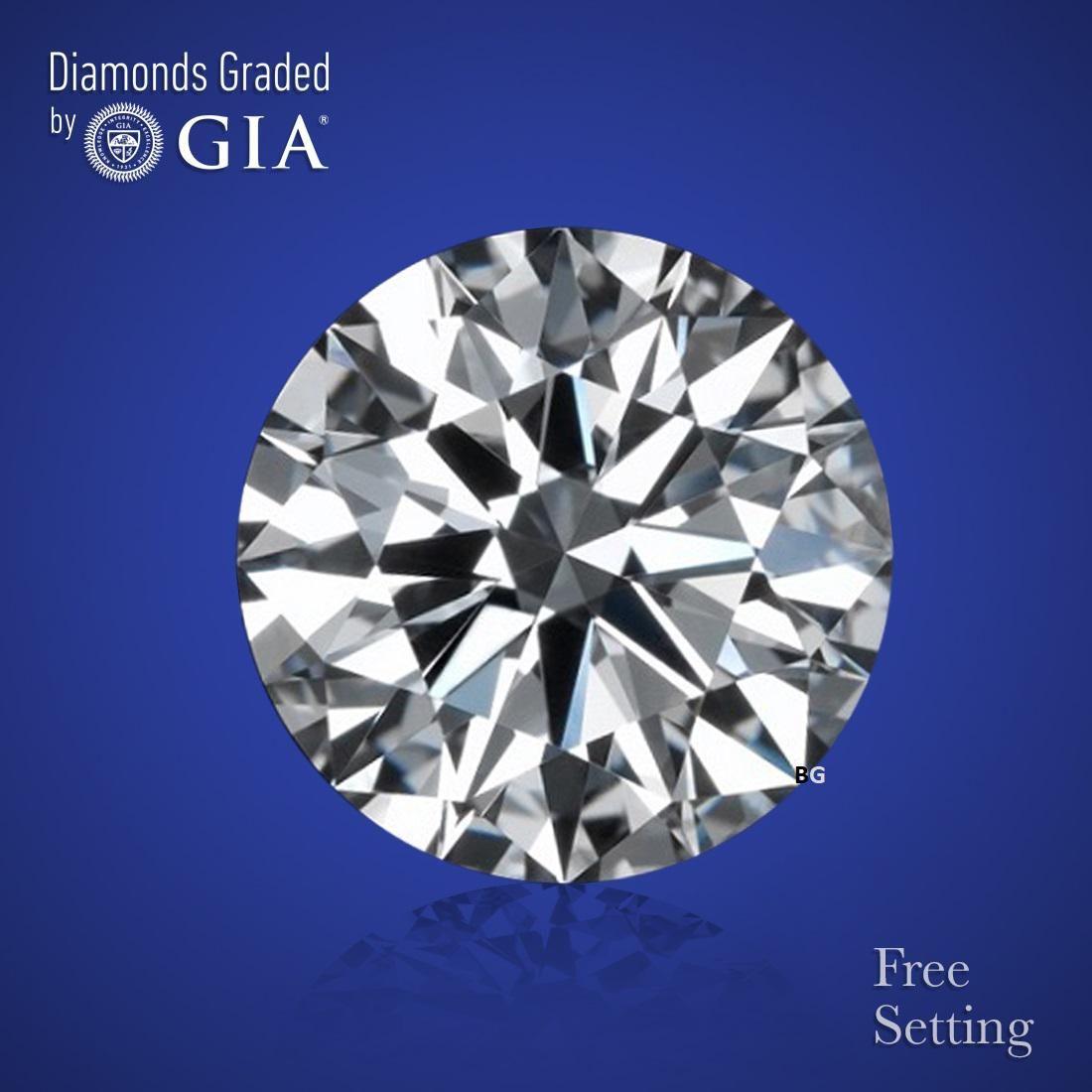 3.01 ct, Color H/VVS2, Round cut Diamond