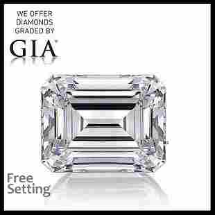 4.02 ct, Color E/VS1, Emerald cut Diamond