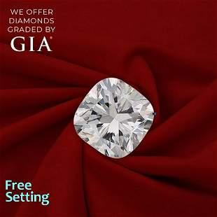 2.01 ct, Color F/VVS2, Cushion cut Diamond