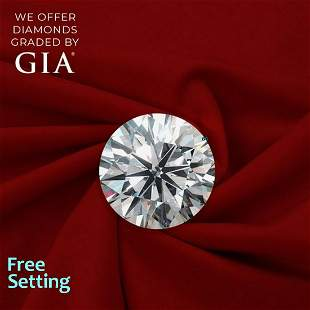 2.01 ct, Color E/VVS1, Round cut Diamond