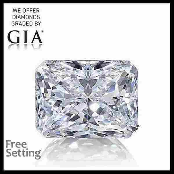 4.51 ct, Color E/VS1, Radiant cut Diamond