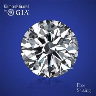 3.01 ct, Color F/VS1, Round cut Diamond