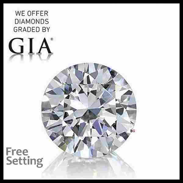 5.01 ct, Color F/VVS2, Round cut Diamond