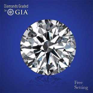 3.01 ct, Color I/VS1, Round cut Diamond