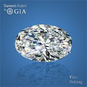 4.02 ct, Color F/VS2, Oval cut Diamond