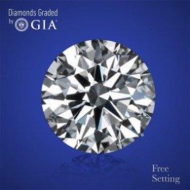 4.26 ct, Color D/VS1, Round cut Diamond