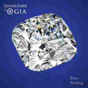 1.20 ct, Color F/VVS2, Cushion cut Diamond