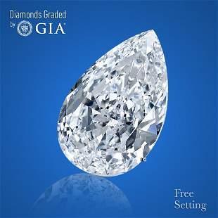3.09 ct, Color H/VS2, Pear cut Diamond