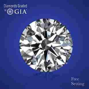 3.31 ct, Color E/IF, Round cut Diamond
