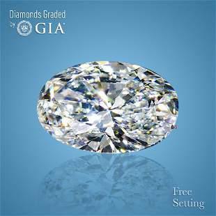 4.01 ct, Color D/VS2, Oval cut Diamond