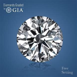 3.03 ct, Color D/IF, Round cut Diamond