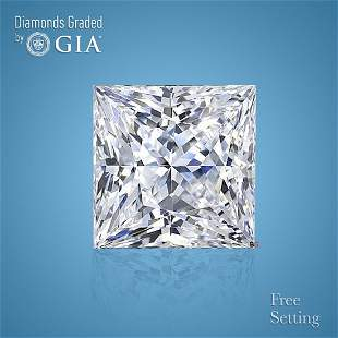 2.01 ct, Color H/VS1, Princess cut Diamond