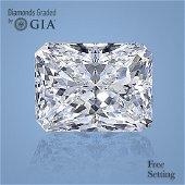 3.01 ct, Color G/VS1, Radiant cut Diamond